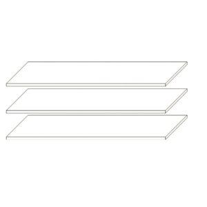 Набір полиць до шафи 3Д, 4Д Франческа