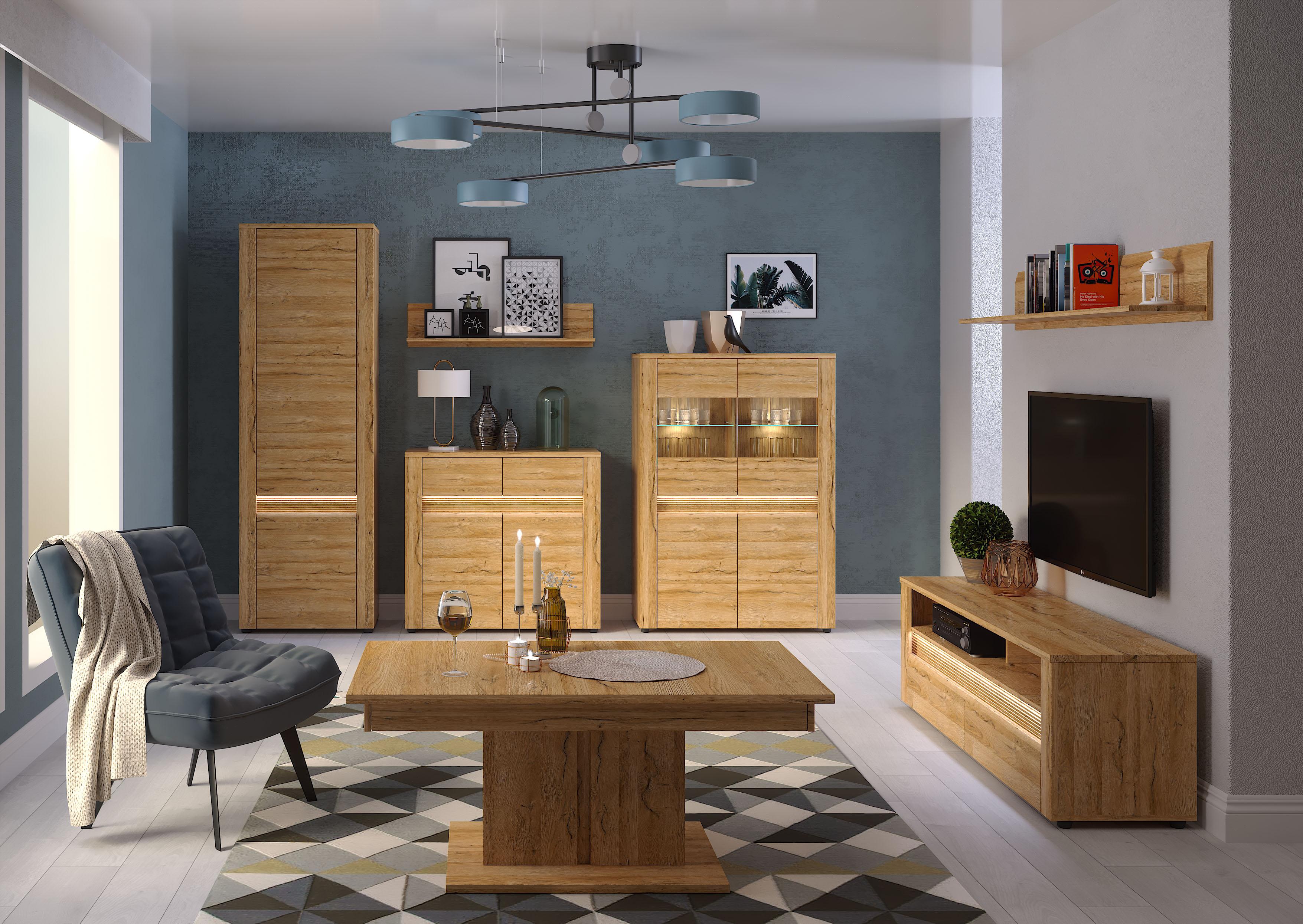 Модульні меблі до вітальні