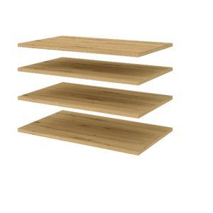 4 додаткові полиці для шафи з передпокою Фокус